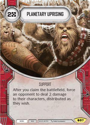 SW Destiny - Planetary Uprising
