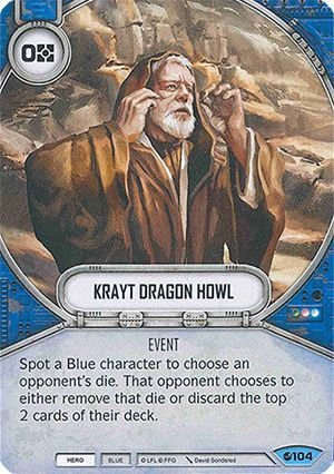 SW Destiny - Krayt Dragon Howl