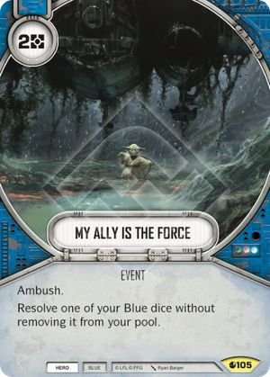 SW Destiny - My Ally Is The Force