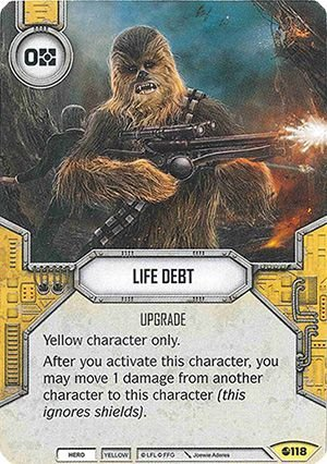 SW Destiny - Life Debt