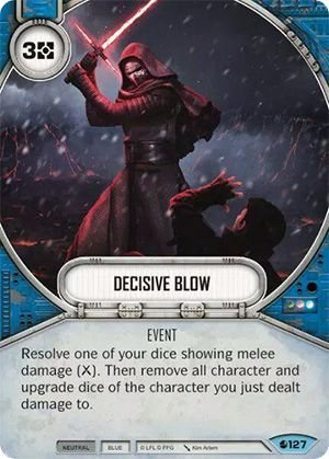 SW Destiny - Decisive Blow
