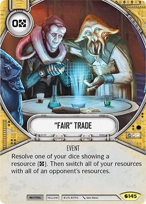 "SW Destiny - ""Fair"" Trade"