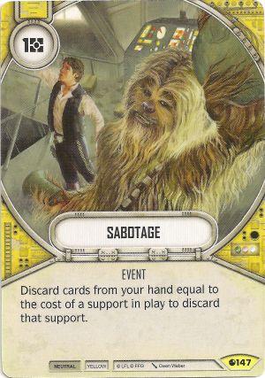 SW Destiny - Sabotage