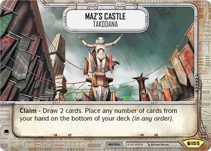 SW Destiny - Maz's Castle Takodana