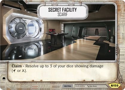 SW Destiny - Secret Facility Scarif