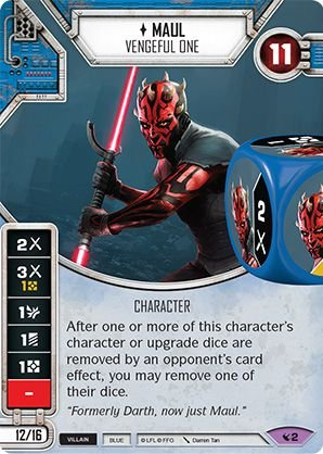 SW Destiny - Maul Vengeful One