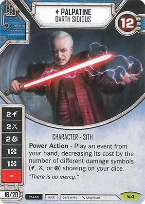 SW Destiny - Palpatine Darth Sidious