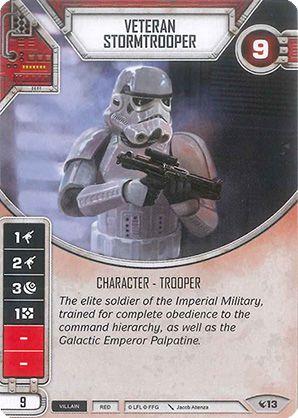 SW Destiny - Veteran Stormtrooper