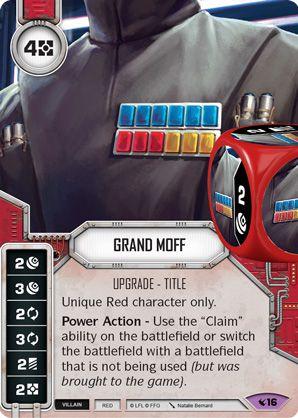 SW Destiny - Grand Moff