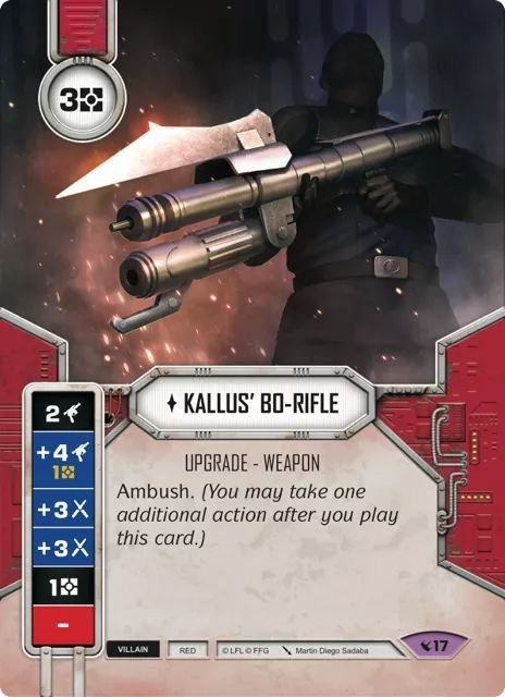 SW Destiny - Kallus' Bo-Rifle