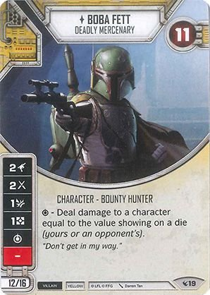 SW Destiny - Boba Fett Deadly Mercenary