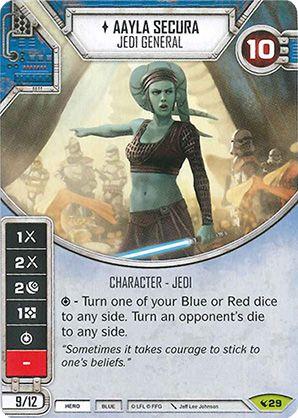 SW Destiny - Aayla Secura Jedi General