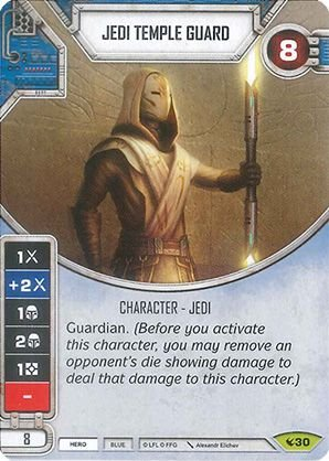 SW Destiny - Jedi Temple Guard