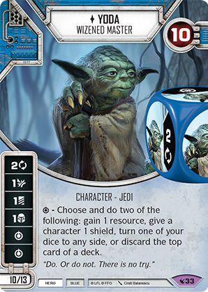 SW Destiny - Yoda Wizened Master
