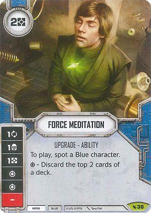 SW Destiny - Force Meditation