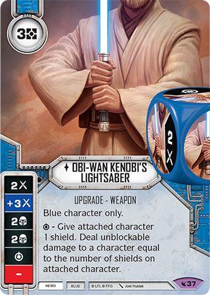SW Destiny - Obi-Wan Kenobi's Lightsaber