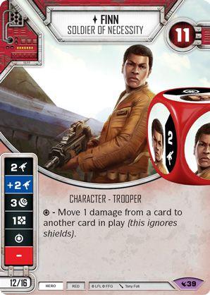 SW Destiny - Finn Soldier of Necessity