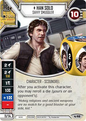 SW Destiny - Han Solo Savvy Smuggler