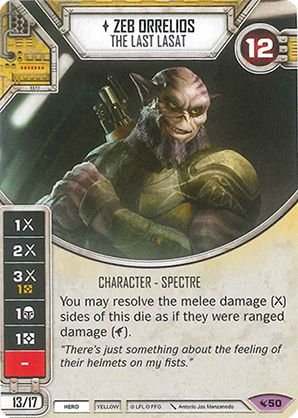 SW Destiny - Zeb Orrelios The Last Lasat