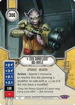 SW Destiny - Zeb Orrelios' Bo-Rifle