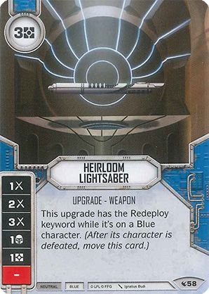 SW Destiny - Heirloom Lightsaber