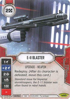 SW Destiny - E-11 Blaster