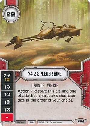 SW Destiny - 74-Z Speeder Bike
