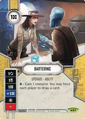 SW Destiny - Bartering