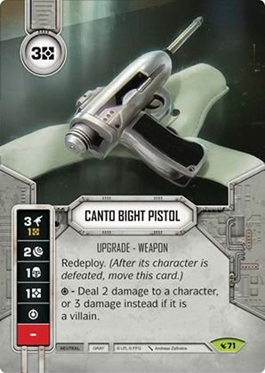 SW Destiny - Canto Bight Pistol