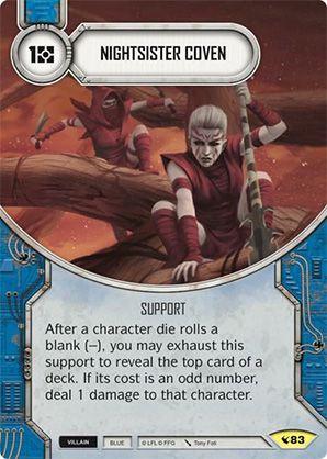 SW Destiny - Nightsister Coven