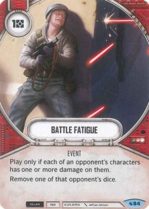 SW Destiny - Battle Fatigue