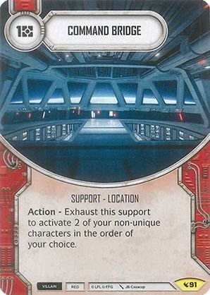 SW Destiny - Command Bridge