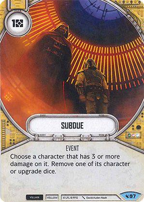 SW Destiny - Subdue