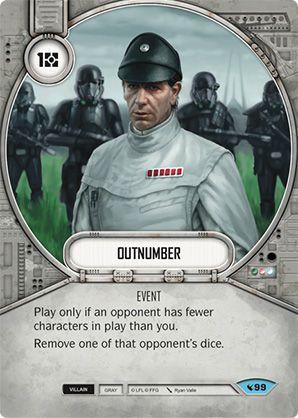 SW Destiny - Outnumber