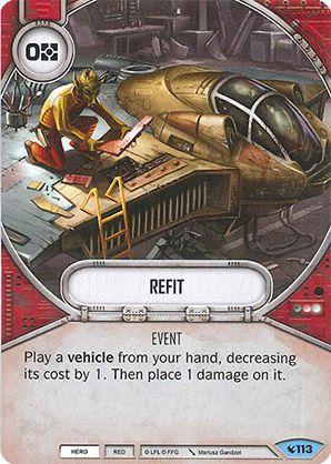 SW Destiny - Refit