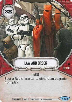 SW Destiny - Law and Order