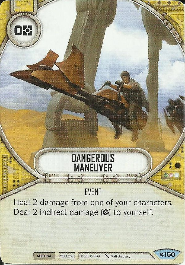 SW Destiny - Dangerous Maneuver