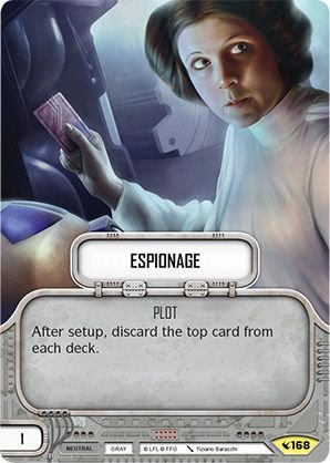 SW Destiny - Espionage
