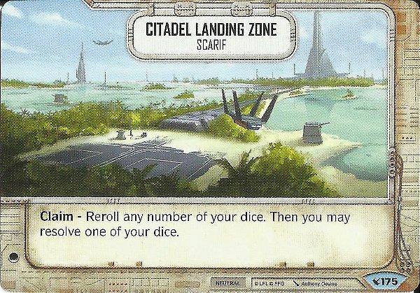 SW Destiny - Citadel Landing Zone Scarif