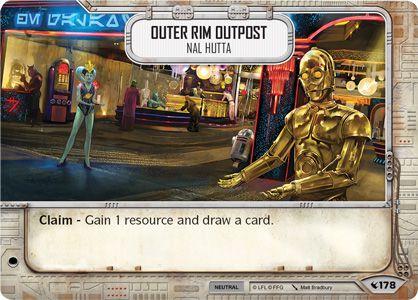 SW Destiny - Outer Rim Outpost Nal Hutta