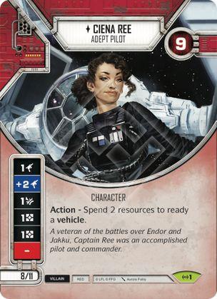 SW Destiny - Ciena Ree - Adept Pilot