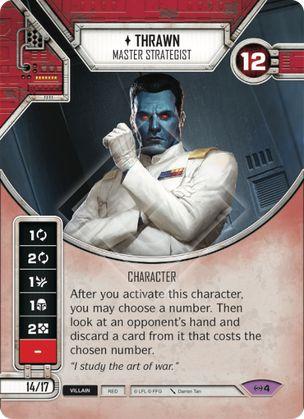 SW Destiny - Thrawn Master Strategist