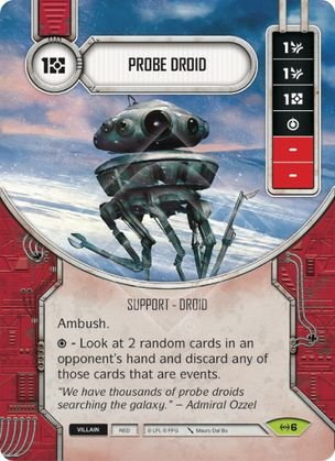 SW Destiny - Probe Droid