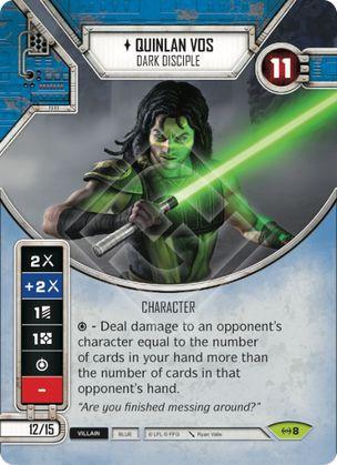 SW Destiny - Quinlan Vos Dark Disciple
