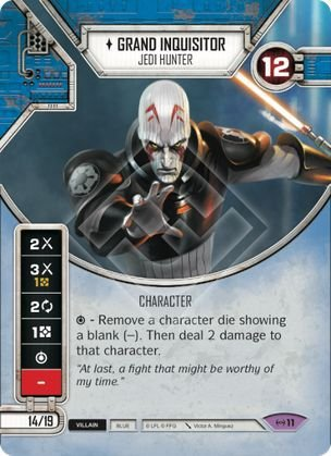 SW Destiny - Grand Inquisitor Sith Loyalist