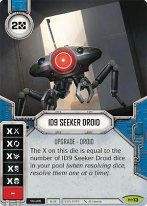 SW Destiny - ID9 Seeker Droid