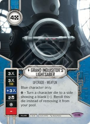 SW Destiny - Grand Inquisitor's Lightsaber