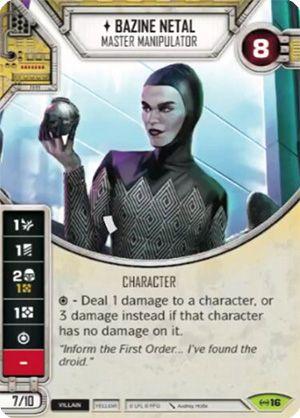 SW Destiny - Bazine Netal Master Manipulator