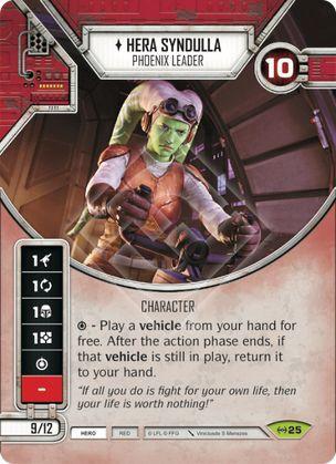 SW Destiny - Hera Syndulla - Phoenix Leader