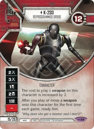 SW Destiny - K-2SO Reprogrammed Droid